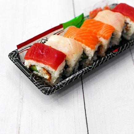Sushi - Rainbow Roll (6pcs)