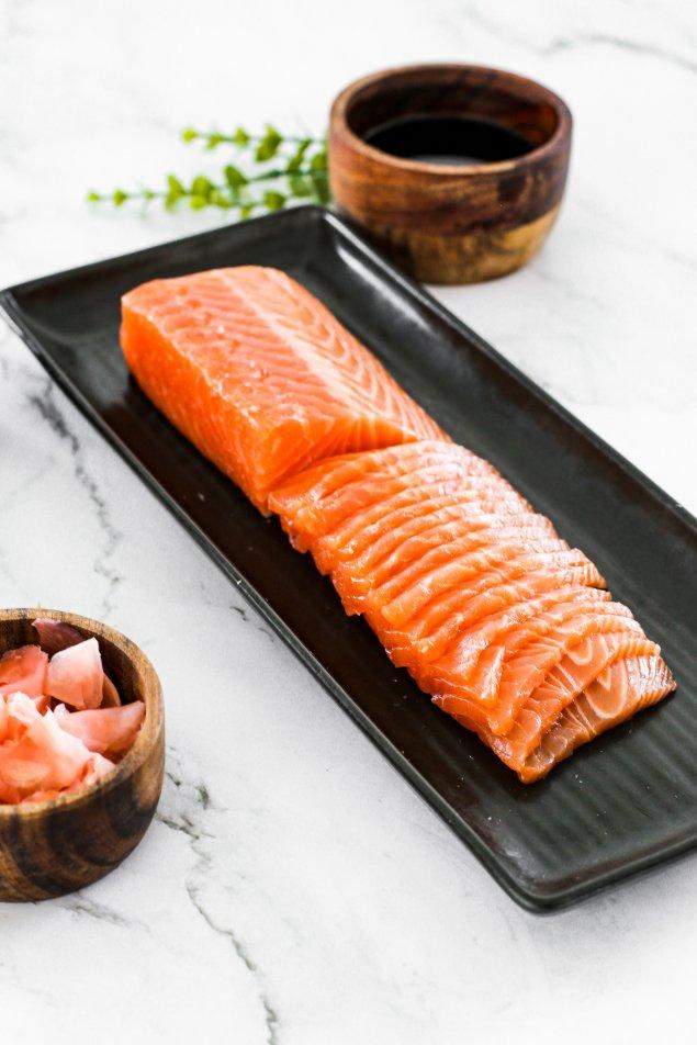 Tasmanian Salmon Sashimi 250g