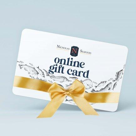 Nicholas Online Gift Card