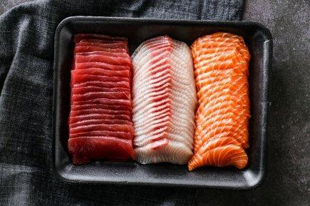 Sashimi - Mixed Sliced (750g Total)