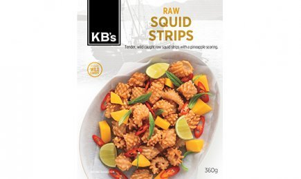 Frozen - KB's Raw Squid Strip