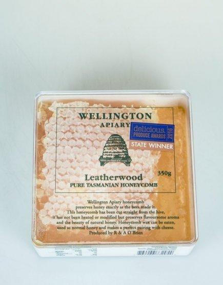 Wellington Leather wood Honey Comb