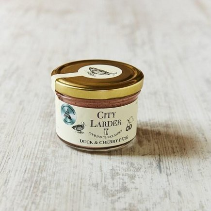 City Larder Duck & Cherry Pate 150g