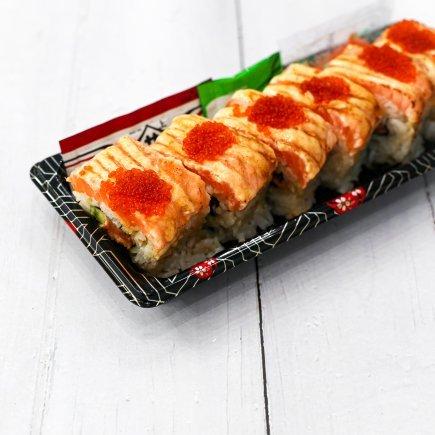 Sushi - Salmon Aburi Roll (6pcs)