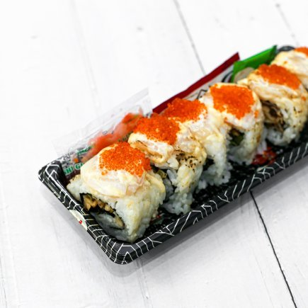 Sushi - Scallop Aburi Roll (6pcs)